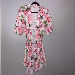 Show Me Your Mumu Garden of Blooms Floral Robe OS